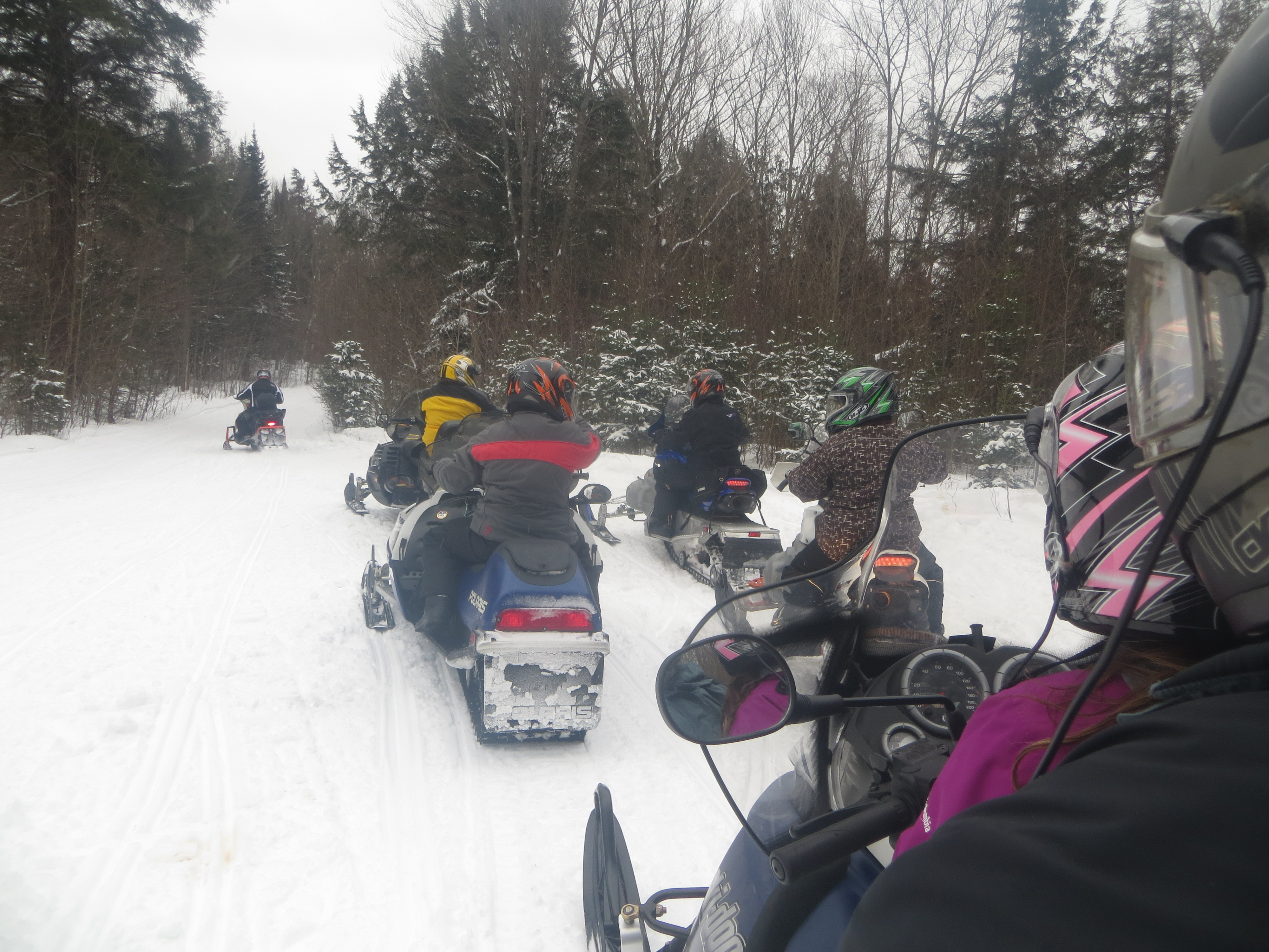Group Snowmobile Trips