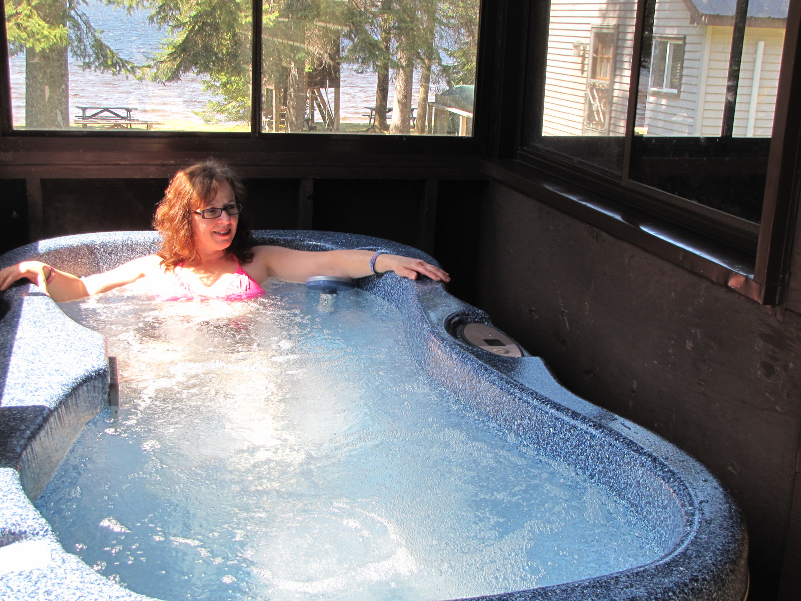 Optional Hot Tub for Two