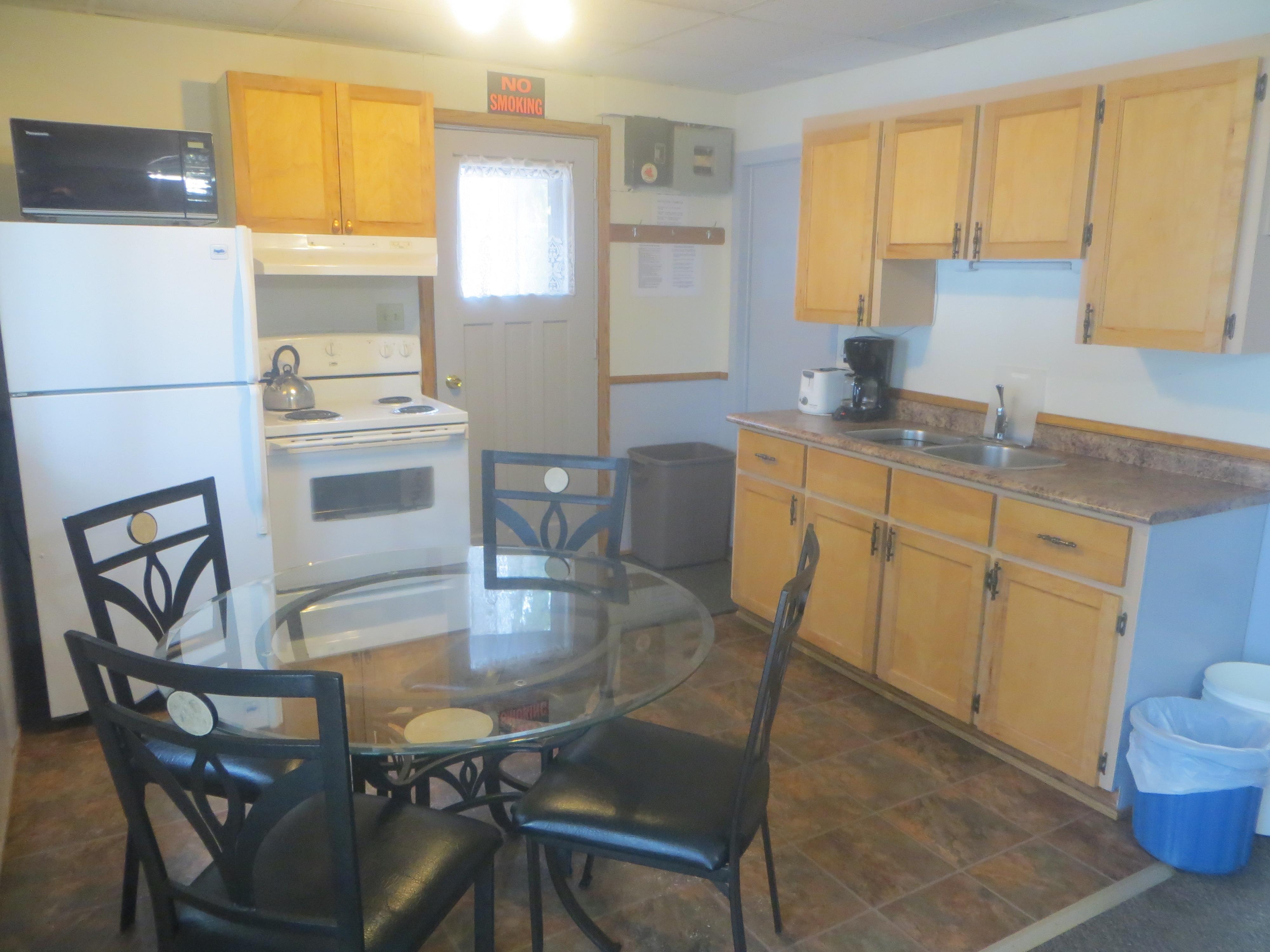 Cabin Rentals Kitchen