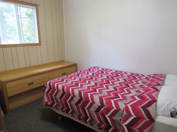 Bedroom has Lakeview