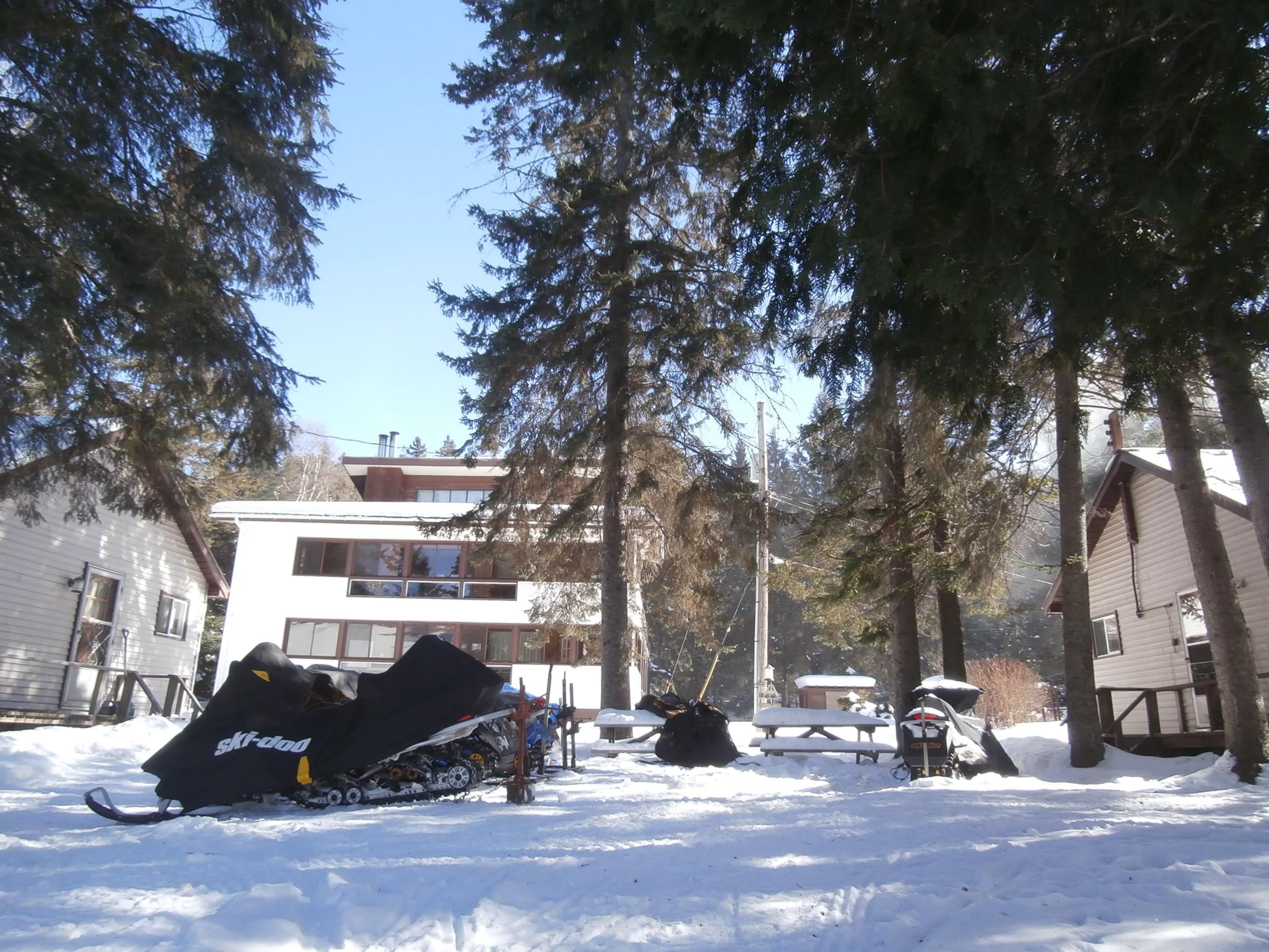 Snowmobile Sand Lake