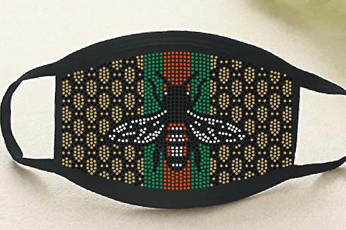 """""""Gucci Inspired"""" Bling Mask"""