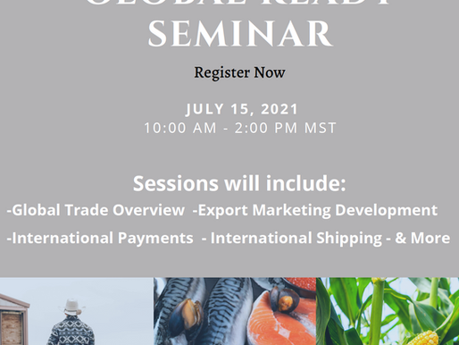 American Indian Foods presents Global Ready Seminar