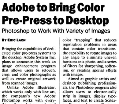 Photoshop turns 30