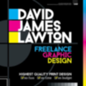 David James Lawton Freelance Graphic Designer