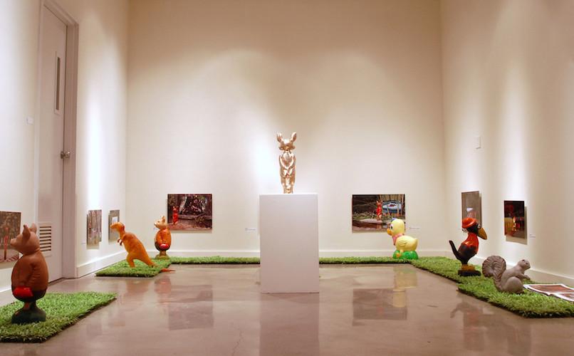 A Fox Journey (Installation View)