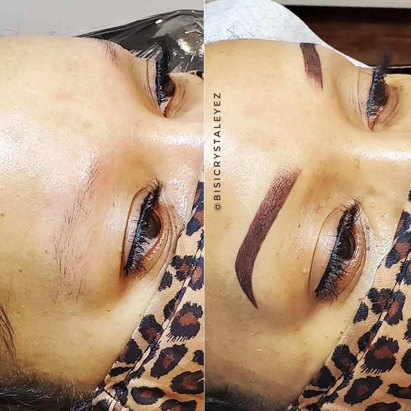 Ombre Powder Brows / Microshading / Permanent Makeup