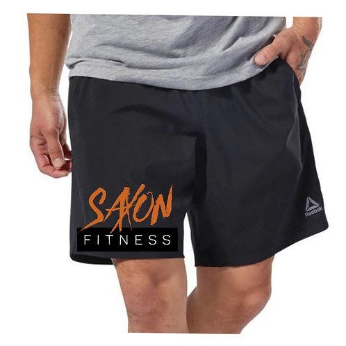Mens Saxon Fitness Reebok Shorts