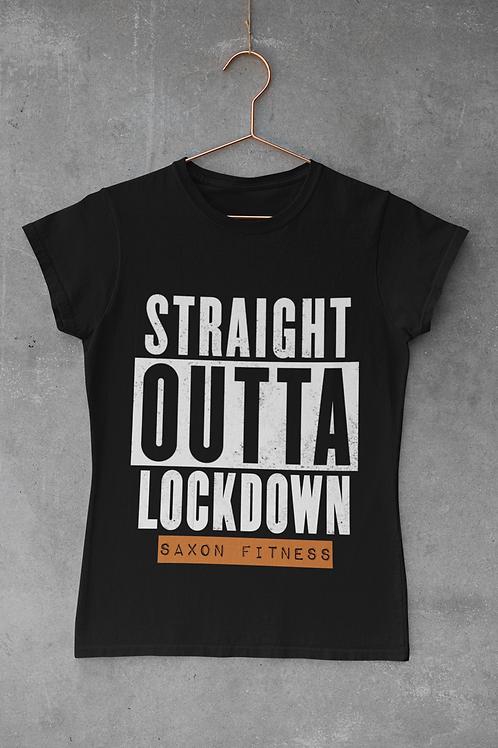 """""""Straight Outta Lockdown"""" Tee"""