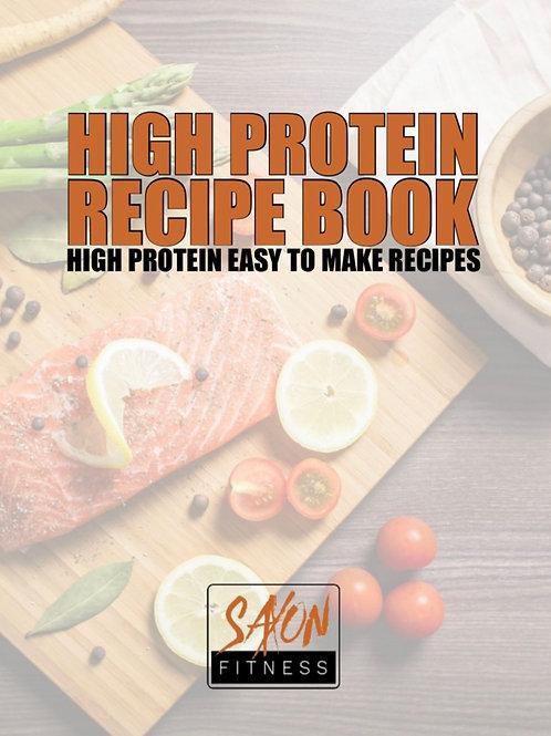 High Protein Recipe E-Book