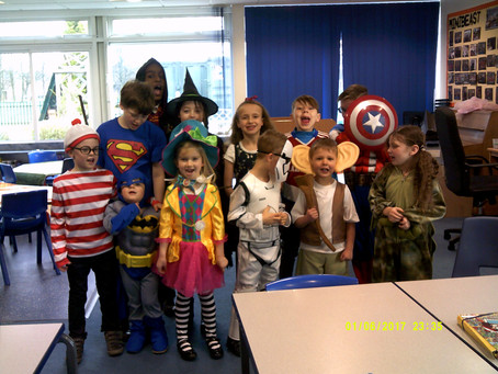 Rosedene Nurseries enjoy World Book Day Activities