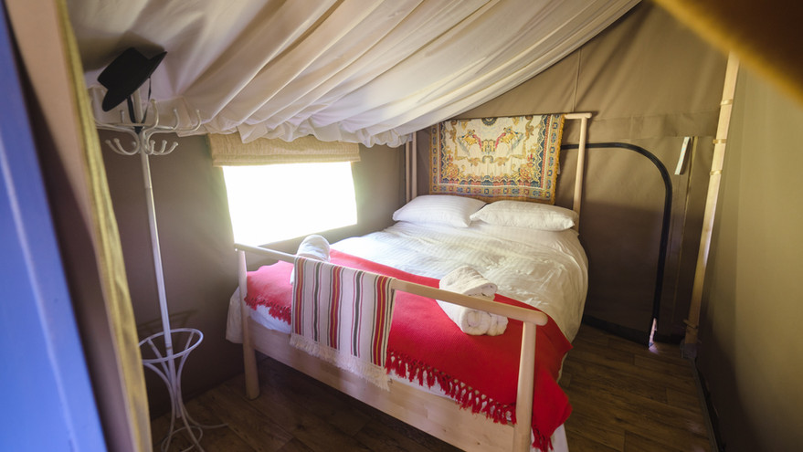 Spacious bed in Murciano
