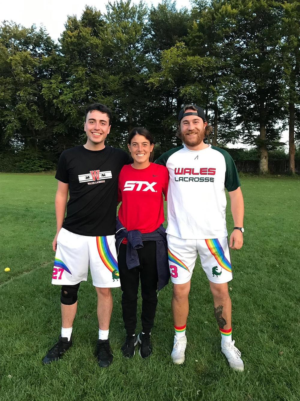 Rainbow Rex Lacrosse