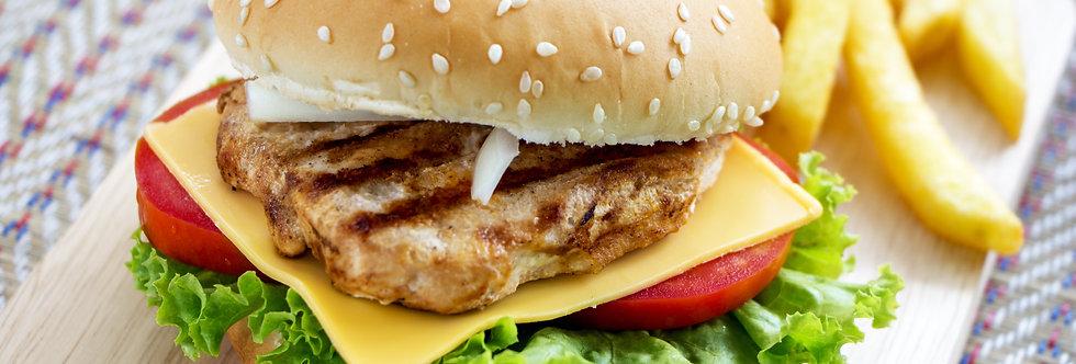Chicken burger meal kit