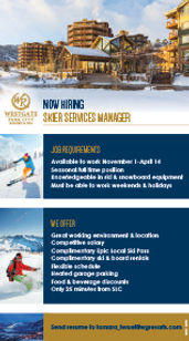 WGPC 107879 Skier Services Manager Ad -