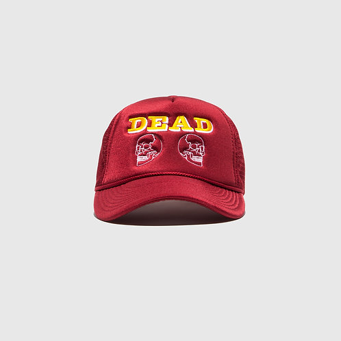 DEAD TRUCKER CAP (RED)