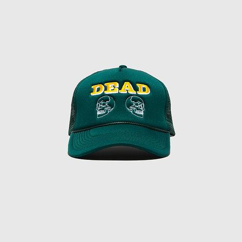 DEAD TRUCKER CAP (GREEN)