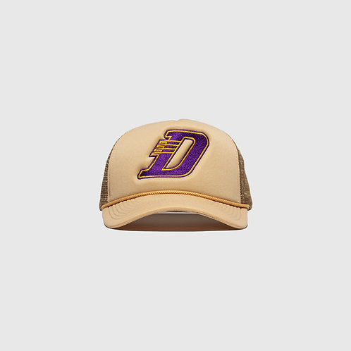 LA TRUCKER CAP (CREAM)