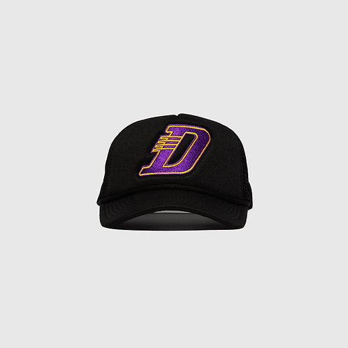 LA TRUCKER CAP (BLACK)