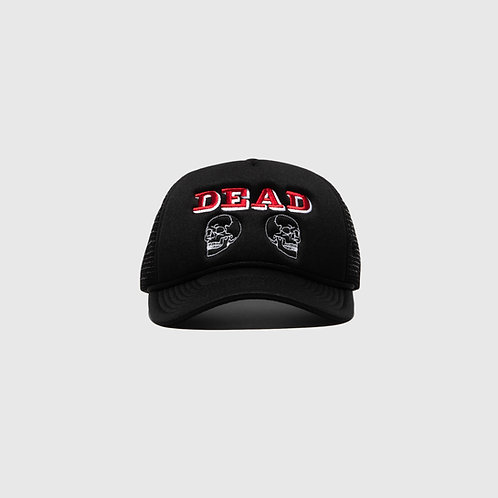DEAD TRUCKER CAP (BLACK)