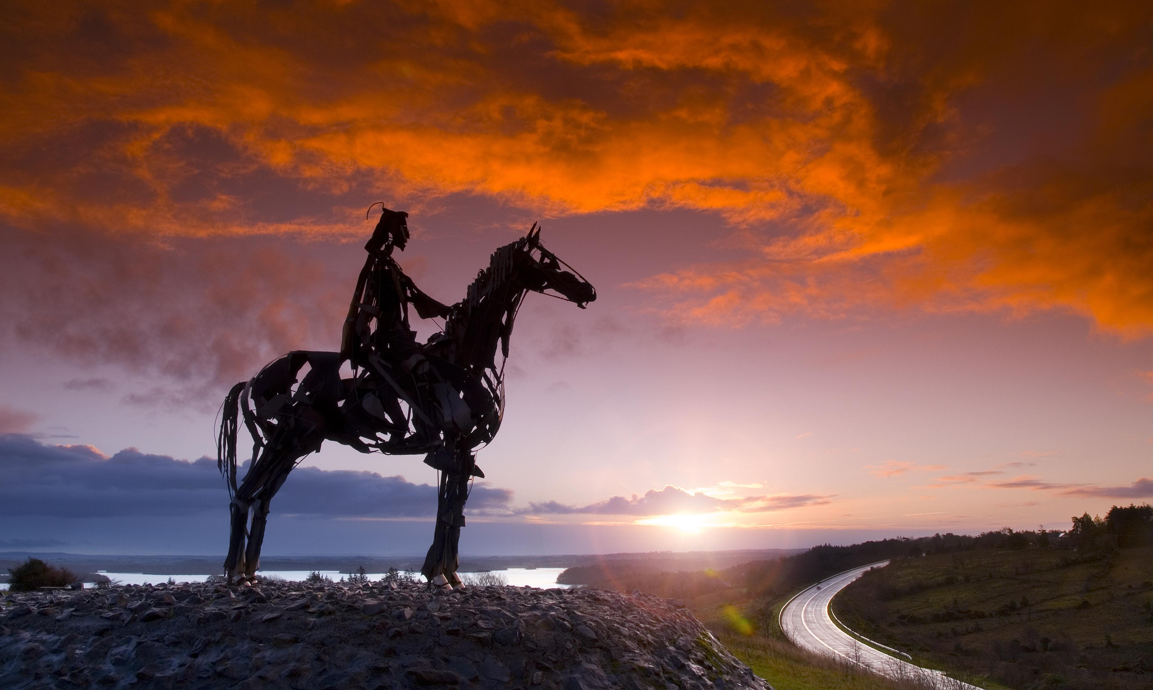 Solstice Horseman lensflare