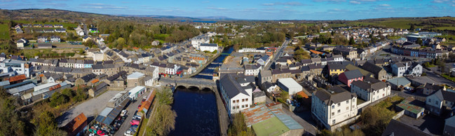 Boyle from the Air - panoramic