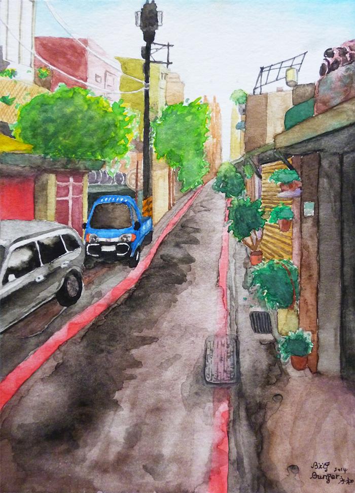 後街 backstreet