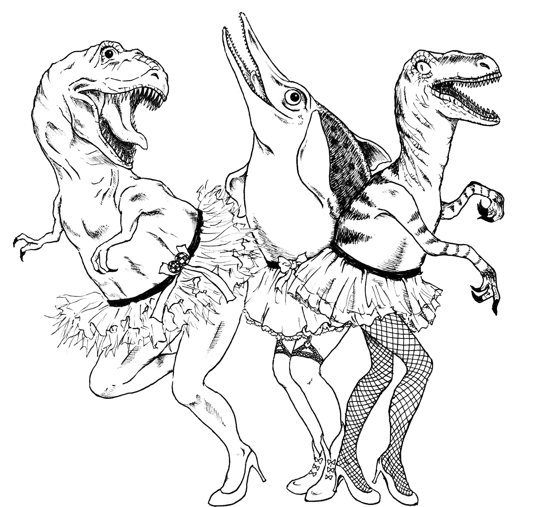 Dinosaurs– Dragon Queens Attack!