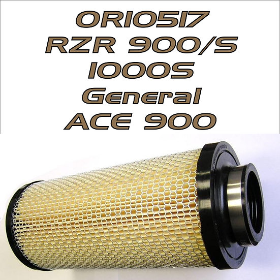 R2C Extreme Series Filter '15-up RZR 900/1000S, General 1000, ACE 900 SP