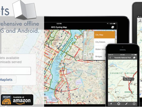 Maplets GPS mapping app