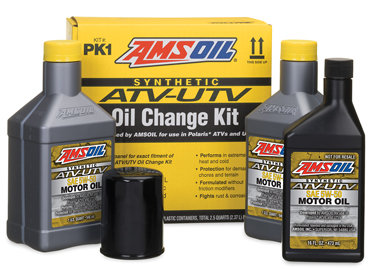 Amsoil Polaris Oil Change Kit - PK1