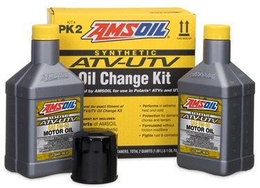 Amsoil Polaris Oil Change Kit - PK2