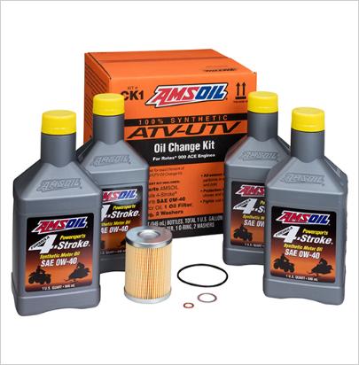 Amsoil Can-Am Maverick X3/Trubo Oil Change Kit CK1