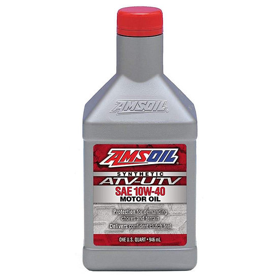 Amsoil Pioneer 500 4qt. pack and oil filter