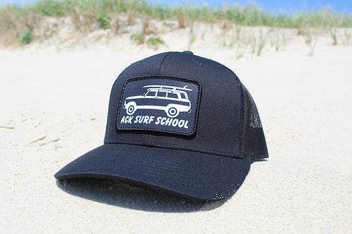 All Black trucker hat.