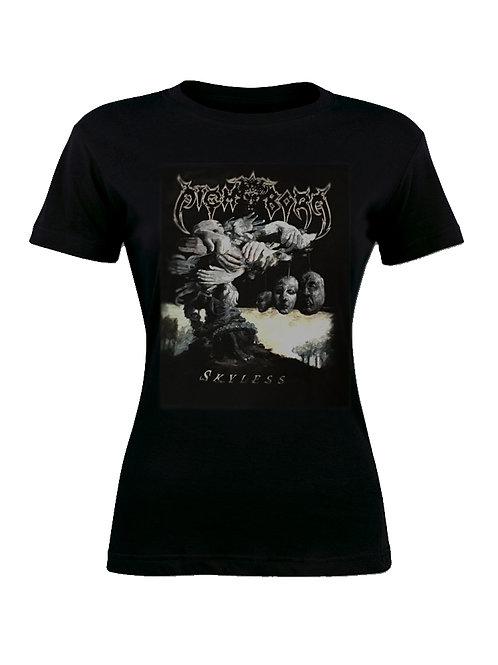 """Skyless"" - Black T-Shirt (Women's)"