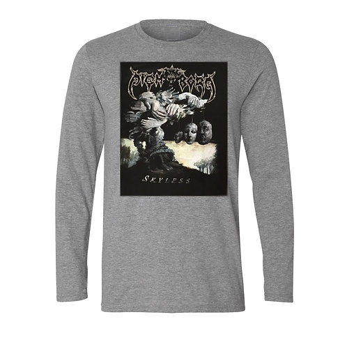 """Skyless"" - Gray Long Sleeve"