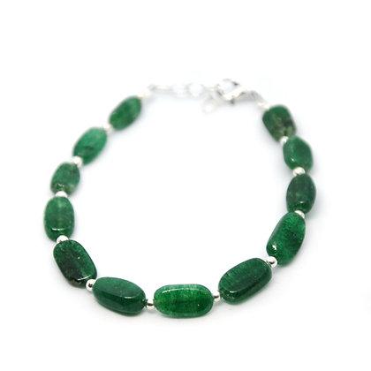 Bracciale di Agata verde