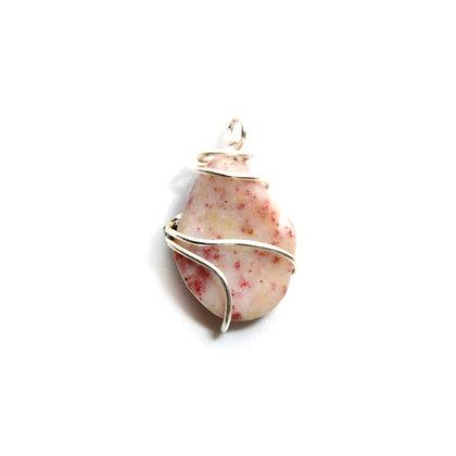 Ciondolo Cinabro di Opale