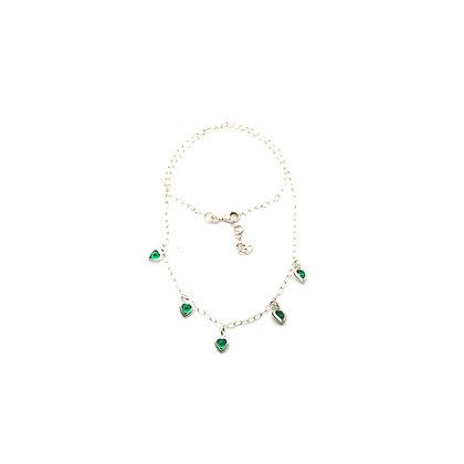 Girocollo con Smeraldo