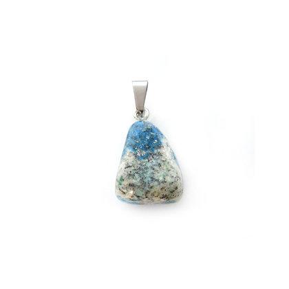 Ciondolo di Granito azzurrite K2