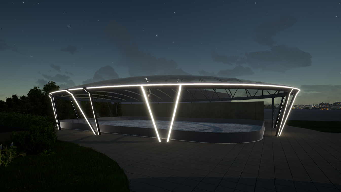Harfa_ETFE-roof_Night.png