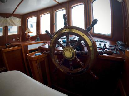 steel ocean trawler