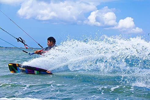corsi kitesurf lo stagnone