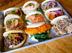 A variety of our baos