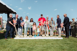Operation Finally Home Breaking Ground Ceremony