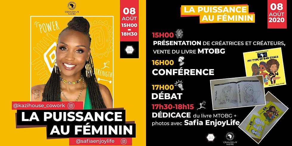 """Conférence """"La puissance au féminin"""" par Grandeurnoire"""