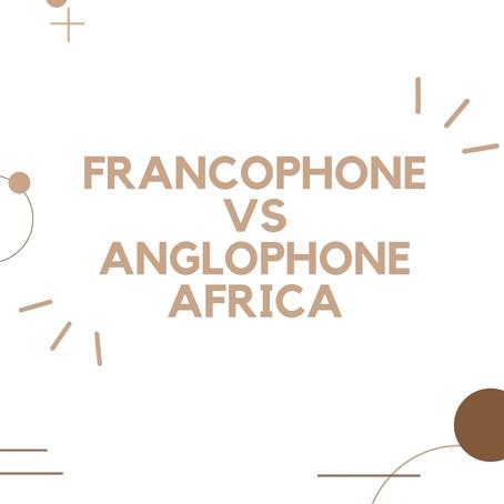 The mindset : francophone vs anglophone