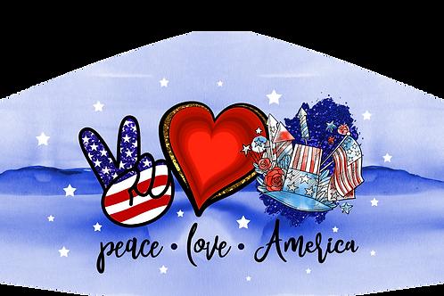 PEACE-LOVE-AMERICA