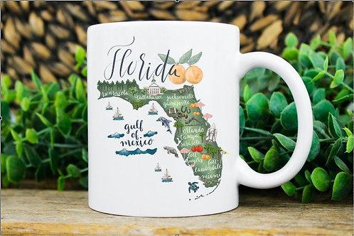 STATE OF FLORIDA MUG